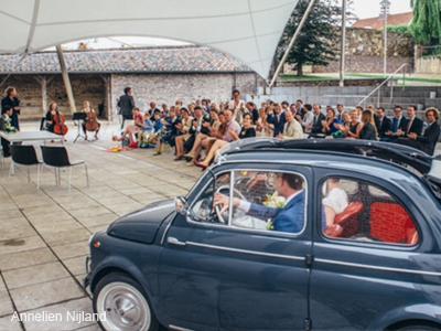 maaike trouwt reactie bruidspaar
